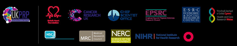 UKPRP funder logos
